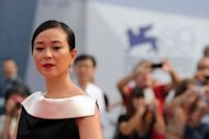 "Korean actress Cho Min-Soo arrives for the screening of ""Pieta"" at the 69th Venice Film Festival on September 4 at Venice Lido"