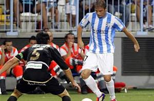 Malaga 1-0 Valencia: Camacho goal moves Pellegrini's side level on points with Los Che in third
