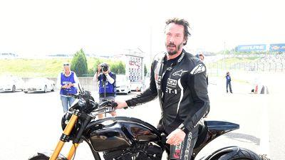 Neiman Marcus's 2015 Christmas Book Includes a Motorcycle Vacation with Keanu Reeves