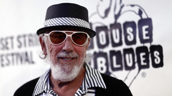 FILE - This Sept. 10, 2009 file photo shows producer Lou Adler at the Sunset Strip Music Festival featuring a tribute to Ozzy Osbourne in West Hollywood, Calif. Adler is one of eight inductees to the Rock and Roll Hall of Fame, which also include rockers Heart and Rush, singer-songwriter Randy Newman, rap group Public Enemy and bluesman Albert King, as well as the late Donna Summer and Quincy Jones, this year's Ahmet Ertegun lifetime achievement honorees. (AP Photo/Matt Sayles, file)