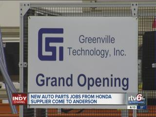 350-year-old Japanese auto parts supplier opens new plant in Anderson