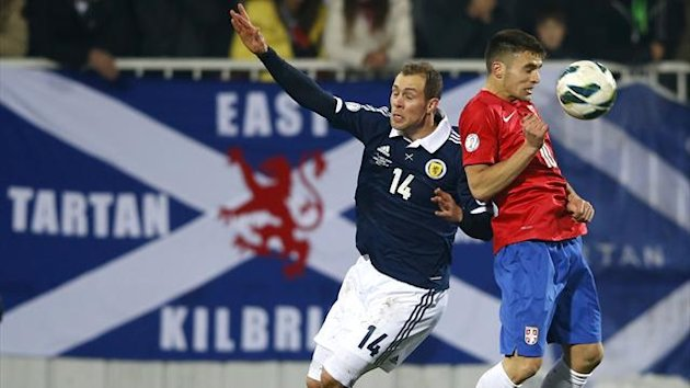 Scotland slumped to another disappointing defeat, this time at the hands of Serbia who secured a convincing 2-0 win over Gordon Strachan's side in Novi Sad.