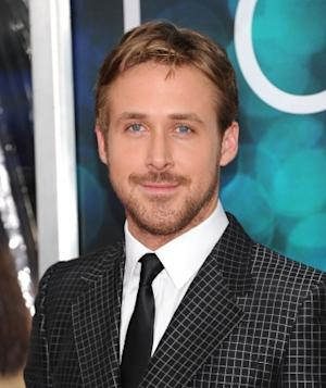 "Ryan Gosling spotted looking dapper at the ""Crazy, Stupid, Love."" premiere at the Ziegfeld Theater in New York City on July 19, 2011 -- Getty Images"
