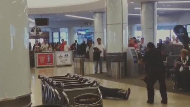 LAX taser incident caught on video