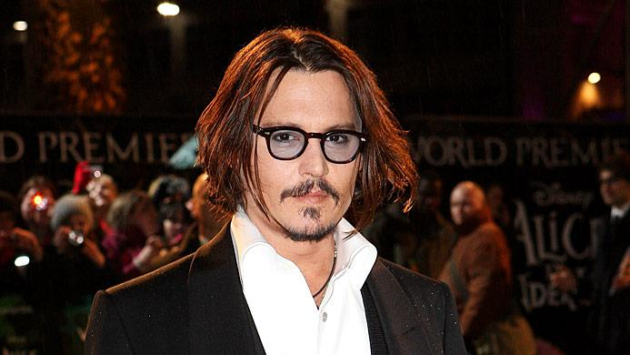 Depp Johnny Alice Wndrlnd