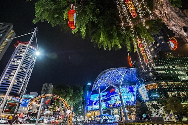 Orchard Road Christmas Festive Light-up