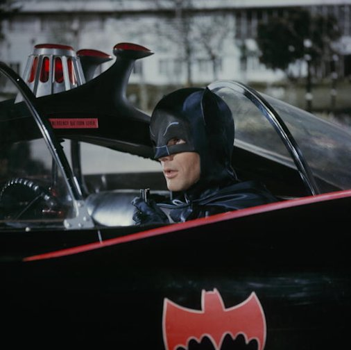 Foto: Adam West como Batman en 1966 / Foto: Getty Images