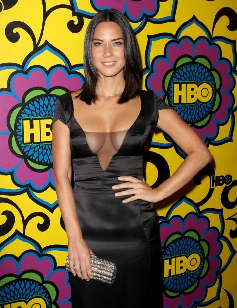 Olivia Munn arrives at HBO's Official After Party at The Plaza at the Pacific Design Center in Los Angeles on September 23, 2012  -- Getty Images