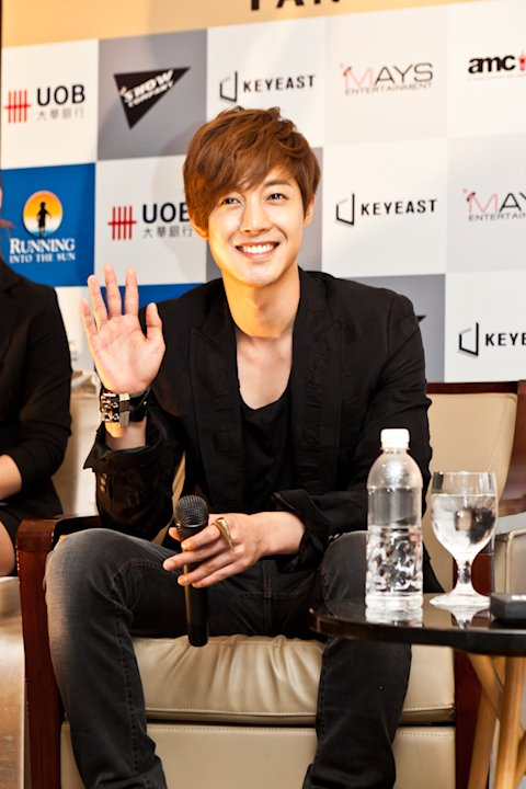 Kim Hyun Joong Tiba di Singapura