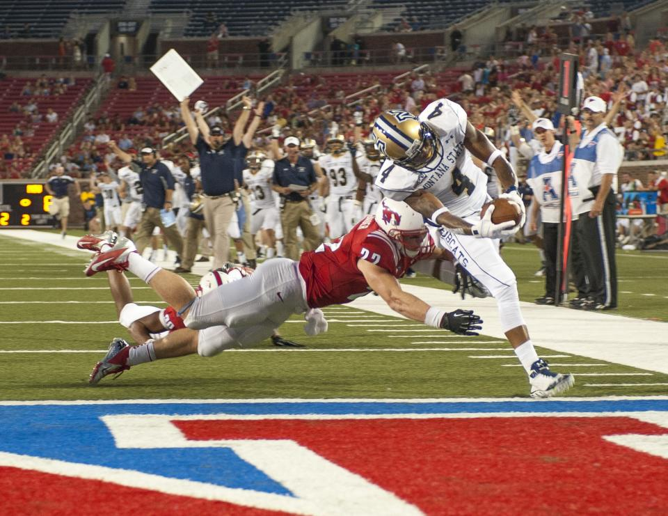 Gilbert leads SMU past Montana St 31-30