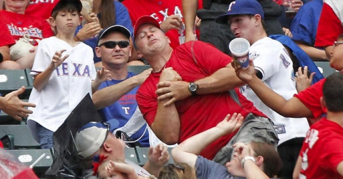 15 Hilarious Crowd Reactions To Foul Balls