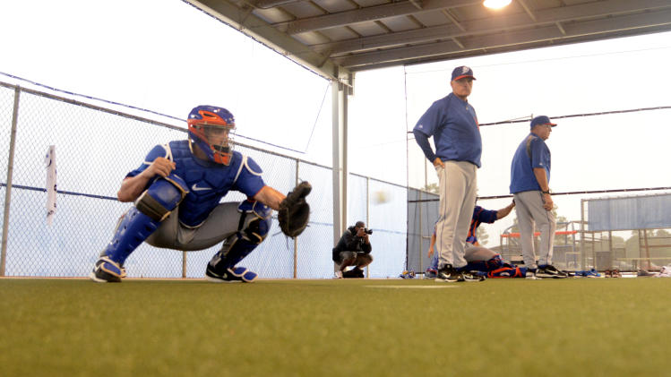 MLB: New York Mets-Pitchers and Catchers