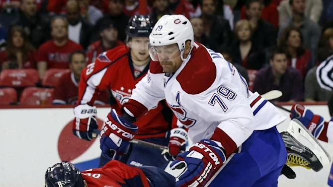 Desharnais scores 1st, Canadiens top Capitals 3-2