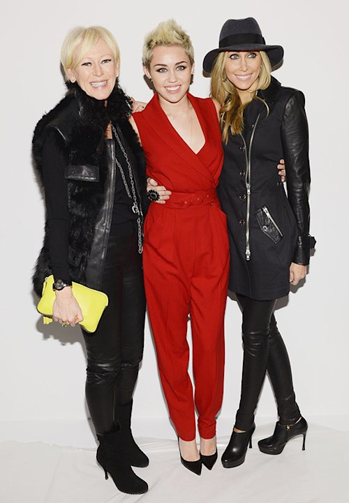 Miley Cyrus, Tish Cyrus, Joanna Coles