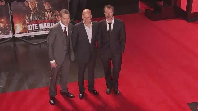 """A Good Day To Die Hard"" London premiere"