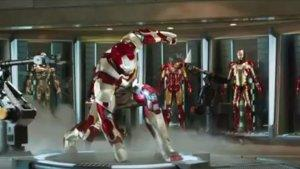 'Iron Man 3' Shoots Scenes at Hollywood's Chinese Theatre