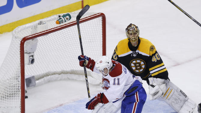 NHL: Montreal Canadiens at Boston Bruins