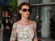 Supermodel Linda Evangelista arrives at New York Family court in New York. Evangelista's 5-year-old son Augustin is unlikely to lack pocket money after his billionaire father made an out-of-court settlement for child support in New York on Monday