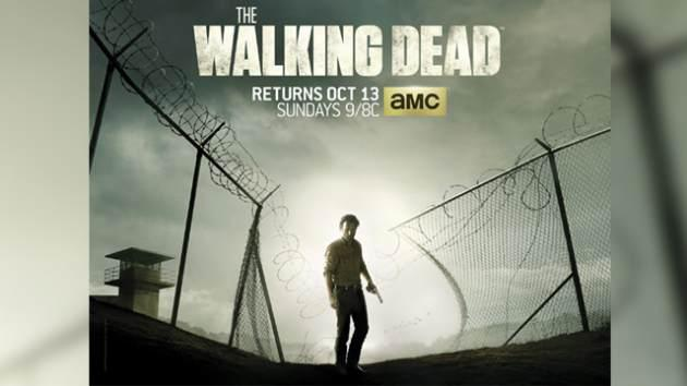 'The Walking Dead' Season 4 key art -- AMC