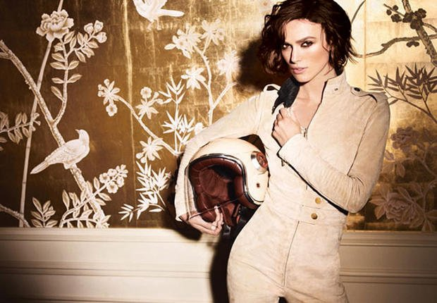 Vido  Keira Knightley, fan de Karl Lagerfeld