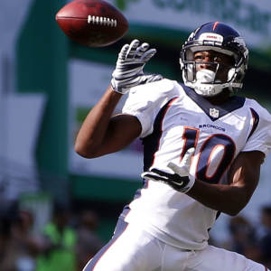 Emmanuel Sanders could be good trade bait