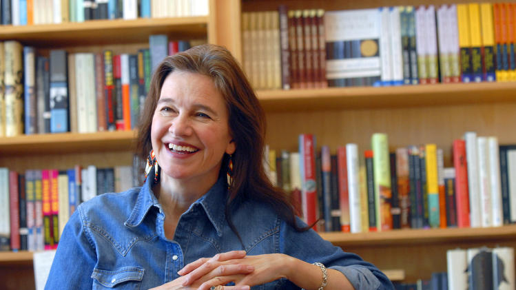 Erdrich wins her first National Book Award