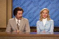 Will Ferrell and Christina Applegate in &#39;Anchorman&#39; -- Dreamworks