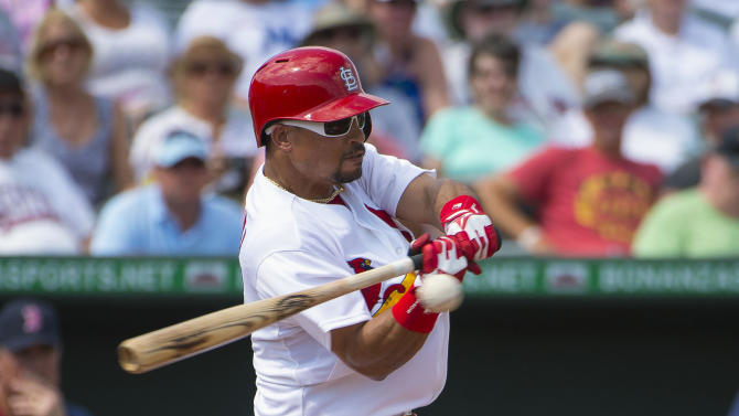 MLB: Spring Training-Boston Red Sox at St. Louis Cardinals