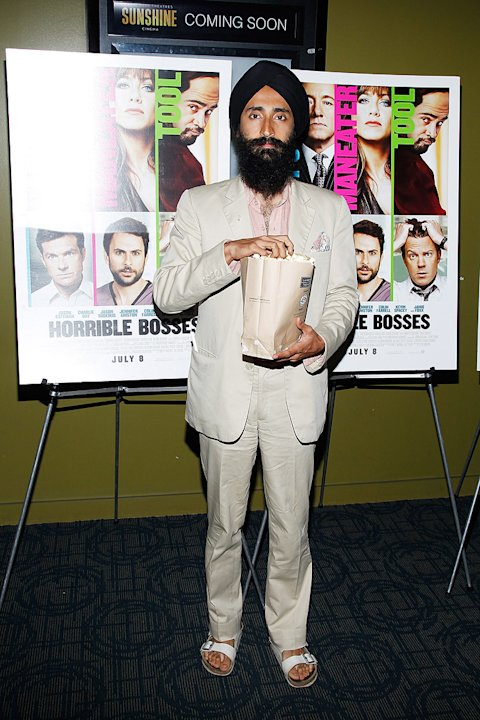 Horrible Bosses 2011 NY screening Waris Ahluwalia