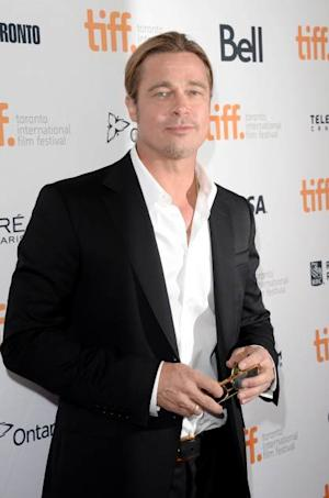 Brad Pitt arrives at the '12 Years A Slave' Premiere during the 2013 Toronto International Film Festival at Princess of Wales Theatre on September 6, 2013 in Toronto -- Getty Images