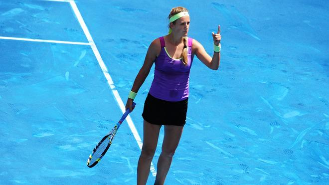 Victoria Azarenka Of Belarus Celebrates Getty Images