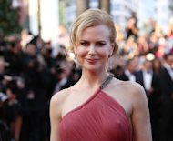 "Australian actress Nicole Kidman arrives for the screening of ""The Paperboy"" presented in competition at the 65th Cannes film festival in Cannes. Kidman sizzles as a small-town vamp drawn to a convicted murderer in Lee Daniels' ""The Paperboy"", marking the US director's return to Cannes Thursday after his harrowing hit ""Precious"""