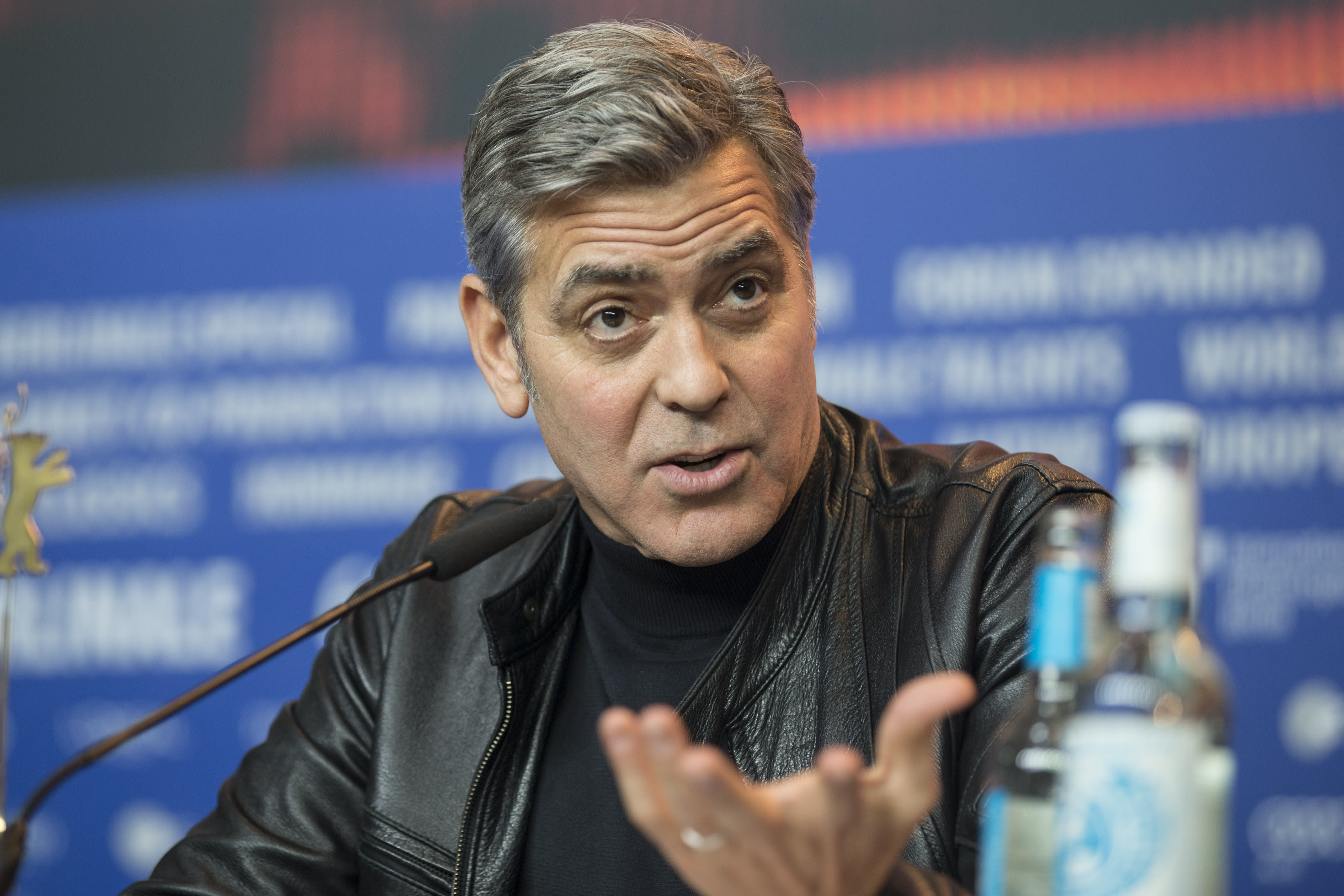 George Clooney, Coen Brothers Address Refugee Crisis at Berlin Film Festival