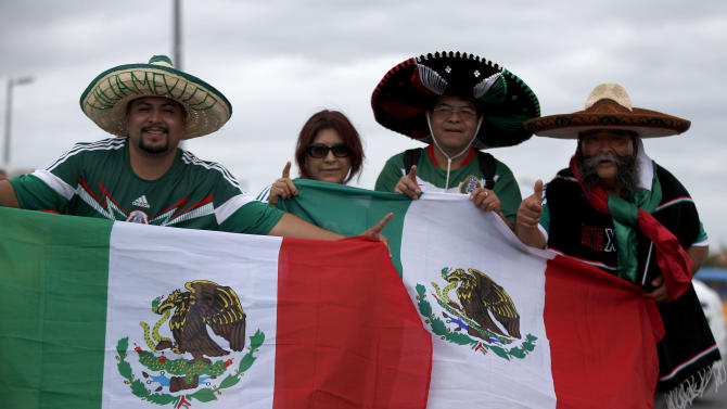 Many fans of Mexico at World Cup come from US
