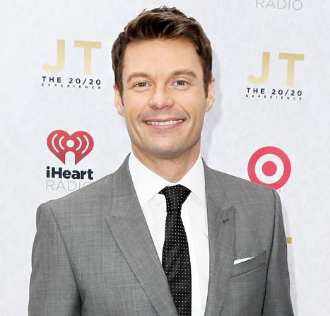 Ryan Seacrest Smiles, Parties With Justin Timberlake at First Event After Julianne Hough Split
