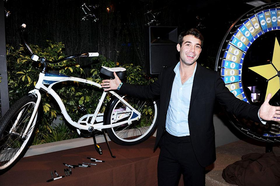 "James Wolk of ""Lone Star"" celebrates at the 2010 Fox Fall Eco-Casino party on September 13, 2010, at Boa in West Hollywood."
