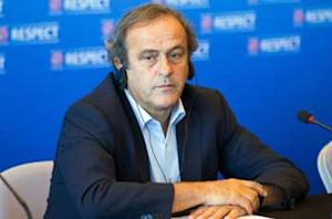 Michel Platini pursues a sport 'free of cheating, violence or injustice'