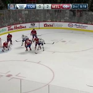 Carey Price Save on James van Riemsdyk (14:43/2nd)
