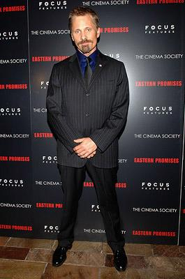 Viggo Mortensen at the New York City Premiere of Focus Features' Eastern Promises