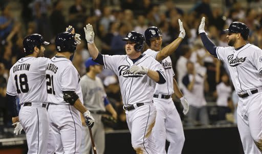 Richard, Guzman lift Padres to 17-inning victory