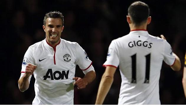 Premier League - Van Persie instrumental in United's title season