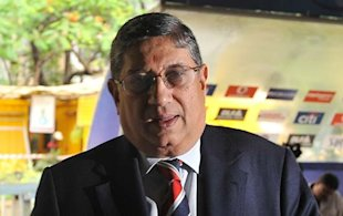 Presenting N Srinivasan, the new president of the Board, owner of Chennai Super Kings, member of the IPL governing council, president of Tamil Nadu Golf Federation, president of All India Chess Federation, President of Tamil Nadu Cricket Association, and... sorry, we&amp;#39;re out of caption space. 
