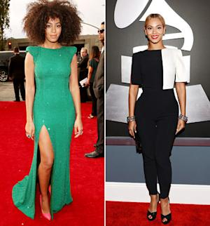 Beyonce vs Solange: Who Looked Best at the Grammys 2013?