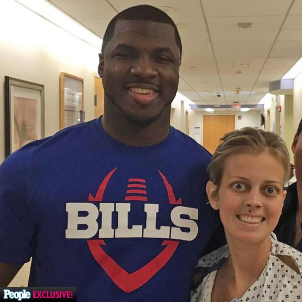 Buffalo Bills Player Reveals Why He Proposed to Terminally Ill Girlfriend: 'I Wasn't Going to Let Fear from Cancer Stop Me'