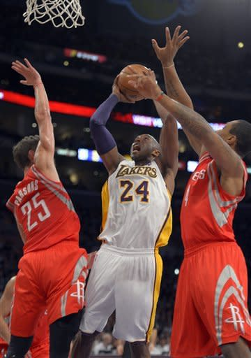 Lakers rip Rockets 119-108 for 4th win in 5 games