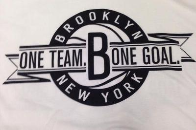 The Brooklyn Nets have a bone goal, according to their shirts