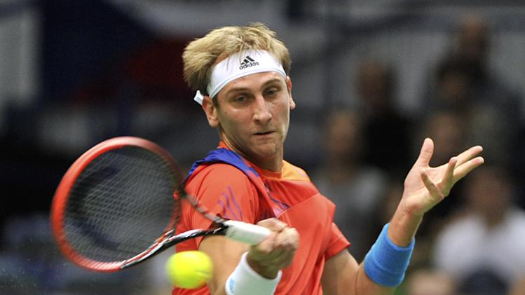 Czechs reach Davis Cup quarters, face Japan