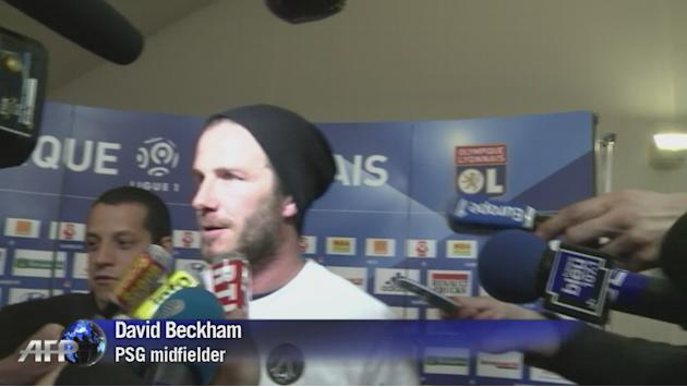 Beckham calls time on 20-year career