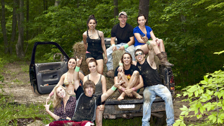 "The cast of MTV's ""Buckwild"""