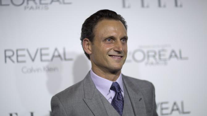 Actor Goldwyn poses at the 21st annual ELLE Women in Hollywood Awards in Los Angeles